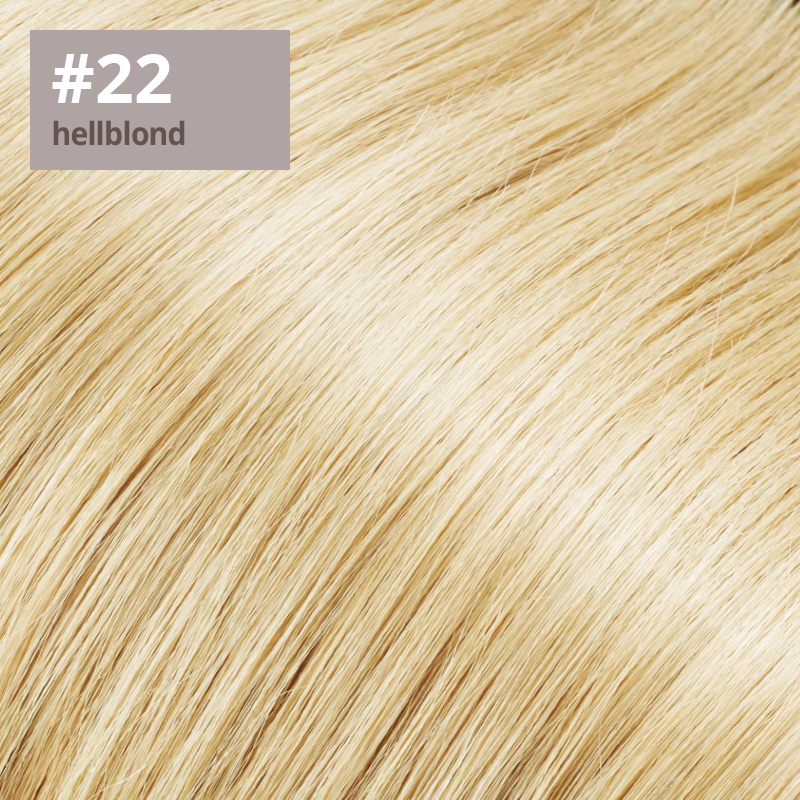 Extensions Farbe hellblond