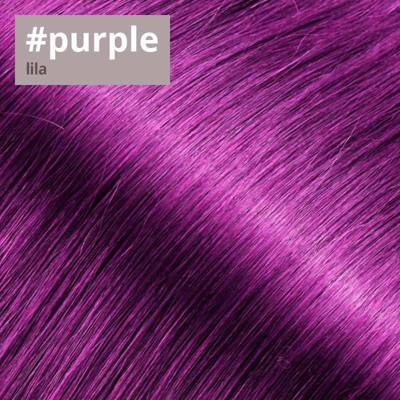 Extensions Farbe lila purple