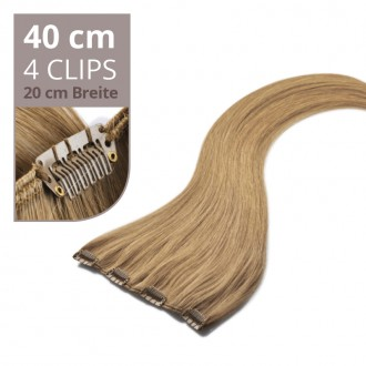 Clip in Extensions 40cm mit 4 Clips (20cm)