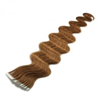 Tape-on Extensions 45 cm gewellt