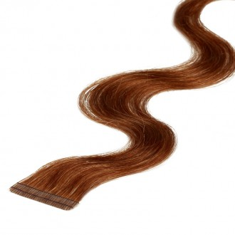 Tape-on Extensions 55 cm gewellt
