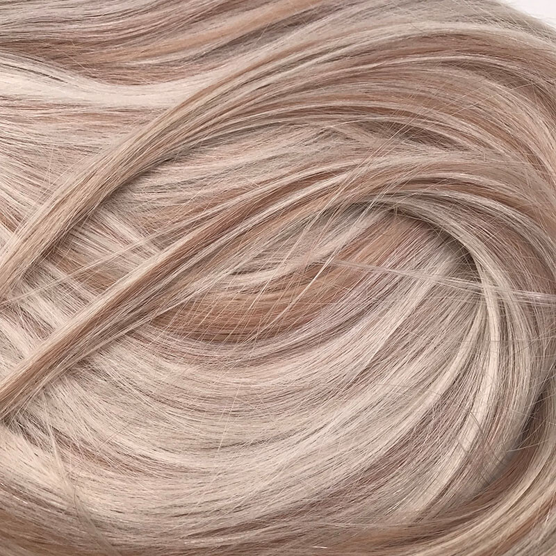 Farbe #60 weißblond & 18 aschblond