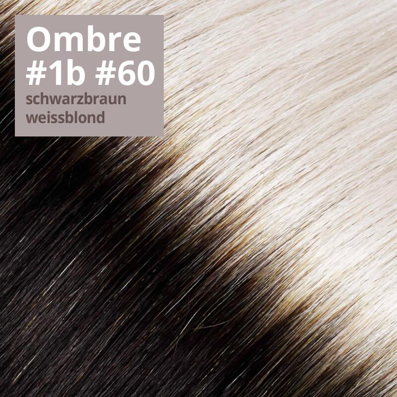 Farbe Ombrè #1b schwarzbraun / #60 weißblond