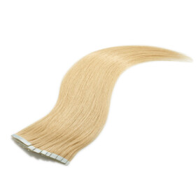 Tape On Extensions 35cm Länge SkinWeft -glatt- #12 honigblond