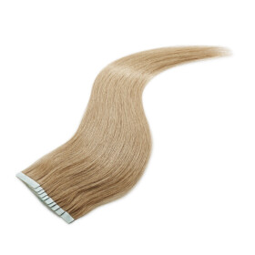 Tape On Extensions 35cm Länge SkinWeft -glatt- #18 aschblond