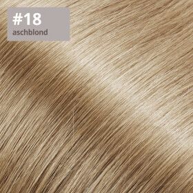 Tape On Extensions 35cm Länge SkinWeft -glatt- #18 aschblond