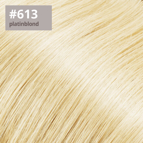 Tape On Extensions 35cm Länge SkinWeft -glatt- #613 platinblond