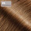 TapeOn Extensions 45cm Länge SkinWeft -glatt- #6 kastanienbraun
