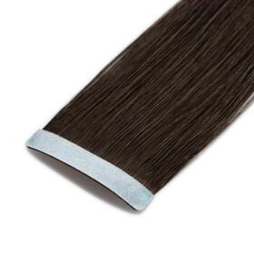 TapeOn Extensions 55cm Länge SkinWeft -glatt- #1 schwarz