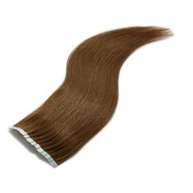 TapeOn Extensions 55cm Länge SkinWeft -glatt- #4...