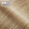 TapeOn Extensions 55cm Länge SkinWeft -glatt- #18 aschblond