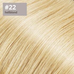 TapeOn Extensions 55cm Länge SkinWeft -glatt- #22 hellblond