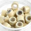 Microrings (Extensions Ringe) Eurolocks mit Silikon blond