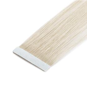 TapeOn Extensions 55cm Länge SkinWeft -glatt- #60 weissblond