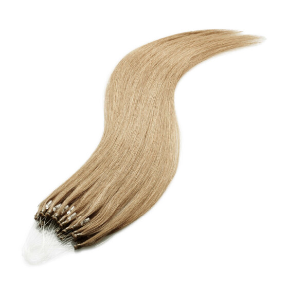 Microring Extensions - 60cm Länge - I-Tip 25 Stck. - 1g #18 aschblond