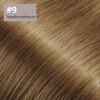 Microring Extensions - 40cm Länge - I-Tip 25 Stck. - 1g #9 haselnussbraun