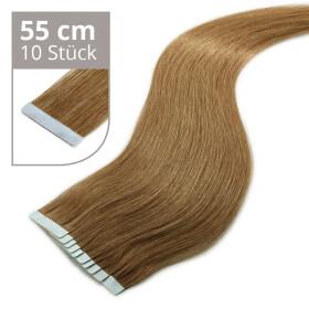 TapeOn Extensions 55cm Länge SkinWeft -glatt- #9...