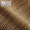 TapeOn Extensions 55cm Länge SkinWeft -glatt- #9 haselnussbraun
