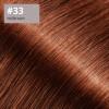 Microring Extensions - 60cm Länge - I-Tip 25 Stck. - 1g #33 rotbraun