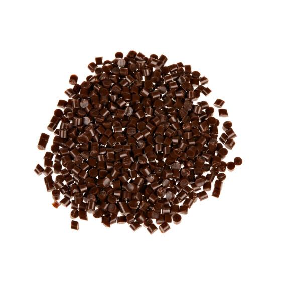 Keratin-Granulat zum Rebonden von Bonding Strähnen oder losem Haar braun 25g