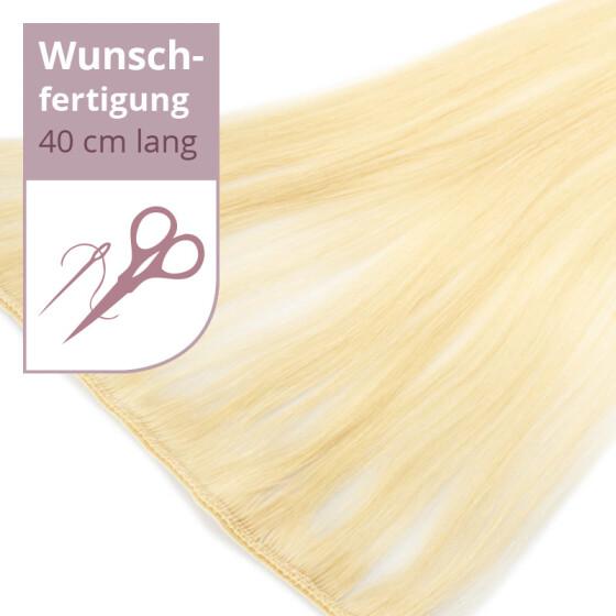 Tressenstück - Wunschbreite - 40cm Länge glatt