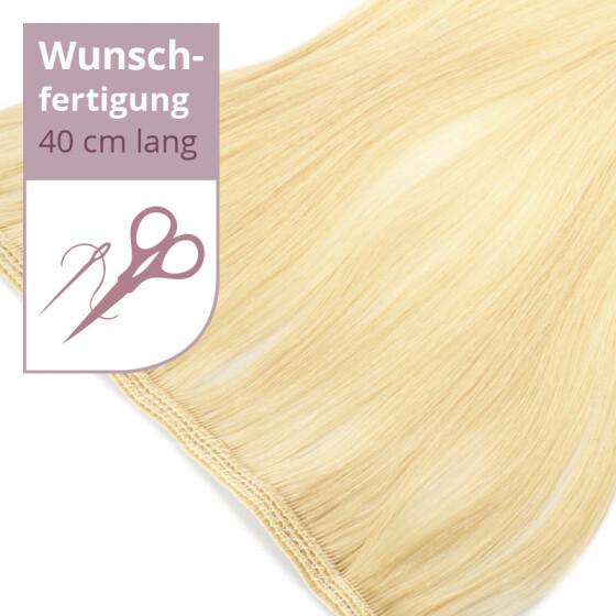 Tressenstück - Wunschbreite - 40cm Länge glatt doppelt dicht vernäht