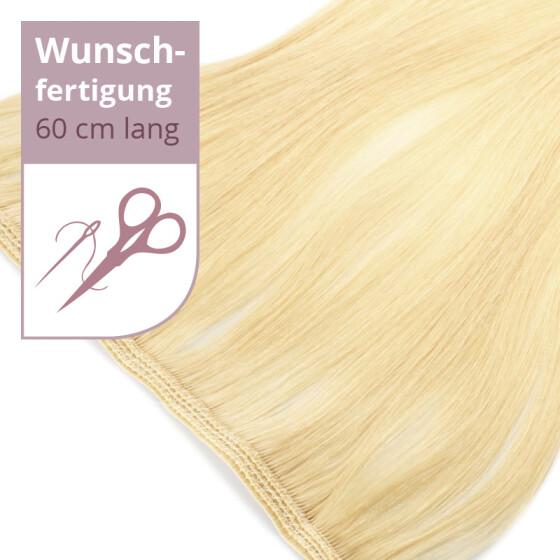 Tressenstück - Wunschbreite - 60cm Länge glatt doppelt dicht vernäht