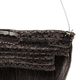 Flip Extensions 110g 40cm Länge glatt #1 schwarz
