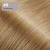 Flip Extensions 110g 40cm Länge glatt #8 nussbraun
