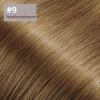 Flip Extensions 110g 40cm Länge glatt #9 haselnussbraun