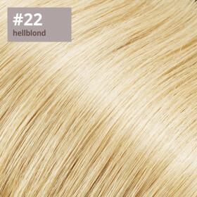 Flip Extensions 110g 40cm Länge glatt #22 hellblond