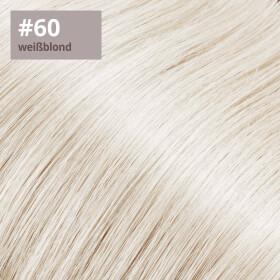 Flip Extensions 110g 40cm Länge glatt #60 weißblond