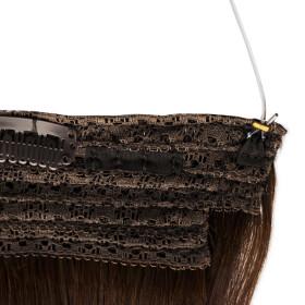 Flip Extensions 150g 50cm Länge glatt #1b schwarzbraun