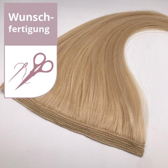 Tressenstück - Wunschbreite - 60cm Länge glatt dreifach dicht vernäht