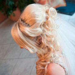 Brautfrisur Hochzeitsfrisur Mit Extensions